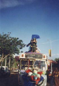 Ohms Bus at the Darwin parade 1998